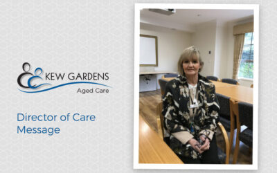 Director of Care Message – Cathrine Klomp